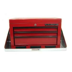 Pit Posse Aluminum Tool Box Tray Shelf Storage Cabinet Enclosed Cargo