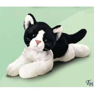 Russ Berrie Yomiko Black And White Cat 7.5 Toys & Games