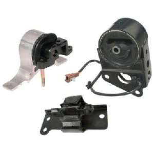 M016 DEA A7349 A7348 A7351 04 09 Nissan Engine Motor Mount Set 3 With