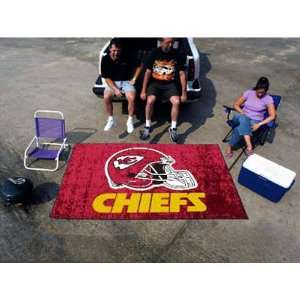 BSS   Kansas City Chiefs NFL Ulti Mat Floor Mat (5x8