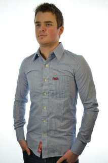 New Mens Superdry Premium Dress Shirt ref AT MP679/0845