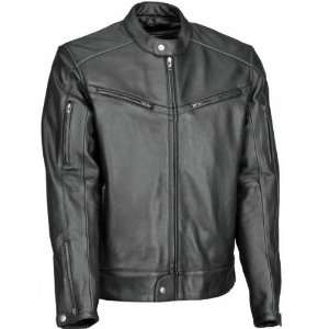 Cool Leather Jacket , Gender Mens, Color Black, Size 40 XF09 4955