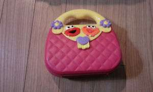 Sesame Street Elmo Zoe Toddler Preschool Purse Adoption