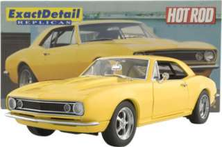 18 Lane 1967 Hot Rod Magazine Yellow Crusher Camaro