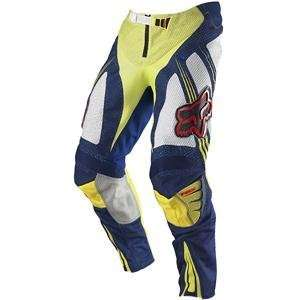Fox Racing Airline Pants   32/Blue/Yellow Automotive
