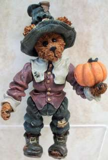BOYDS BEARS Virginia Grizberg RESIN Pilgrim 3210