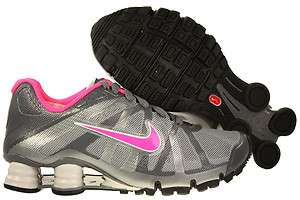 Women Nike Shox Roadster+ Running Shoes Grey/Pink Fleshr 487603 060