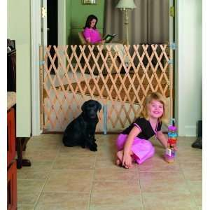 Keepsafe 60 Inch Select Wood Expansion Safety Pet/Baby Gate