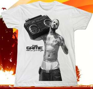 The Game Hip Hop Lil Wayne Rapper Music WiZ KhalifaT SHIRT Sz.XL