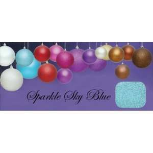 Sky Blue Shatterproof Christmas Ball Ornaments 4