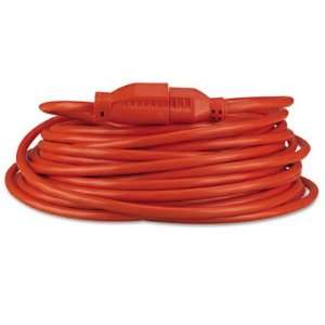 Indoor/Outdoor Heavy Duty Extension Cord   50 Feet, Orange