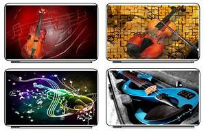Music Violin Laptop Netbook Skin Cover Sticker Decals