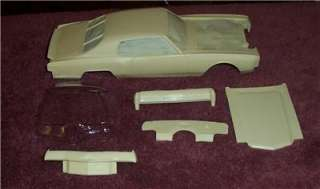 1971 Chevy Monte Carlo Stock Car Resin Body 1/25 NIB