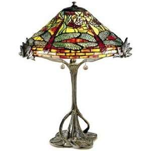 Dragonfly Tree Replica Dale Tiffany Table Lamp