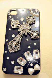 Christian CROSS iPhone 4 & 4S Case Bling Super HIGH QUALITY Crystals