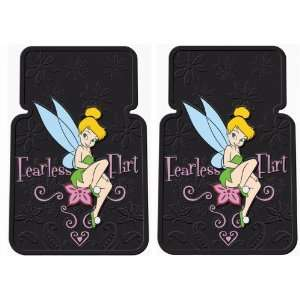 Tinker Bell Fearless Flirt Front Car Floor Mats with Bonus