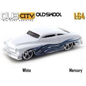 Jada Dub City Oldskool White 1951 Mercury 164 Scale Die