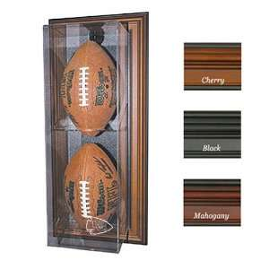 Kansas City Chiefs NFL Case Up Football Display Case (Vertical