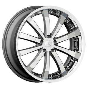 Wheel+Tire Package 22 inch Chrome 5x115 5x114.3 DW19