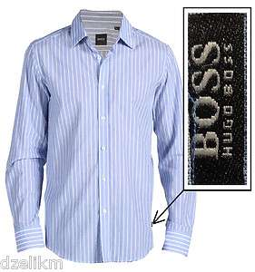 Hugo Boss Black Label Lex Sport Shirt Size XL in Blue