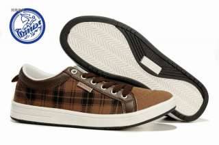 Fashion Mens Brown Casual Sneakers Canvas Shoes Eur Size #40~#44 SX022