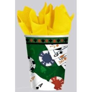 Casino Poker Party Paper Cups Case Pack 3