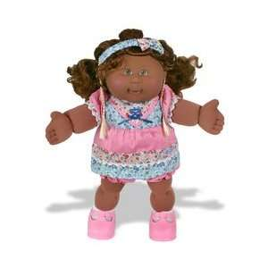 Cabbage Patch Corn Silk Kids Girl in Pink Dress   Ethnic