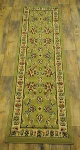 PERSIAN GREEN CLASSIC DESIGN AREA RUG 22x83 HALLWAY RUNNER Fits to 2