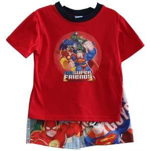DC Super Friends Batman Superman Toddler T shirt & Short