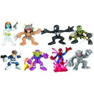Marvel Super Hero Squad 2 Pack Action Figures Case of 12 Toys & Games