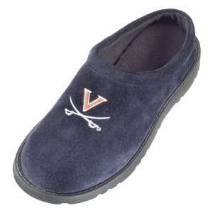 Hush Puppies Virginia Cavaliers Mens Navy Blue Slipper