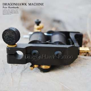Handmade Custom Cast Iron Tattoo Machine Gun for Kit