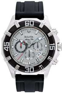 New Bulova Marine Star Mens Watch 96B152 (Chronograph)
