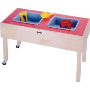 Jonti Craft 2 TUB SENSORY TABLE   TODDLER MINIMAL ASSEMBLY