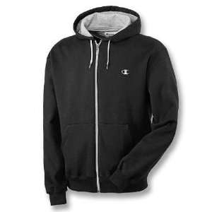 Champion   Eco Fleece Full Zip Mens Hoodie Sports
