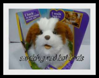 Furreal Friends Walking Puppy Fur Real Dog Gogo Brown 653569562078