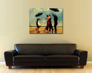 Dancing In The Rain Original Abstract Art Oil Painitng