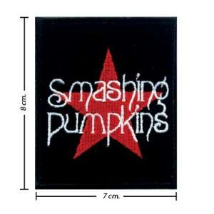 3pcs Smashing Pumpkins Music Band Logo I Embroidered Iron