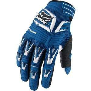 Fox Racing Pawtector Gloves   11/Blue Automotive