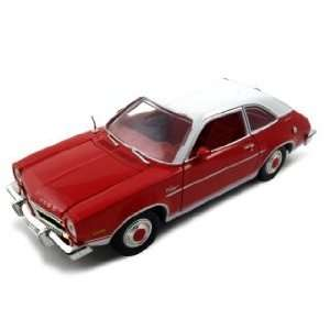 1974 Ford Pinto Diecast Car Model 1/24 Red Die Cast Car by