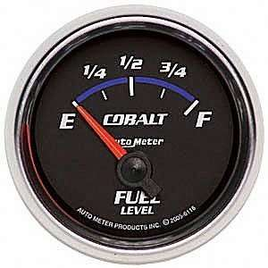 Auto Meter 6116 Cobalt 2 1/16 240 33 ohms Short Sweep Electric Fuel
