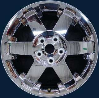2011 2012 Dodge Ram 1500 20 6 Spoke Chrome Clad Rim / Wheel