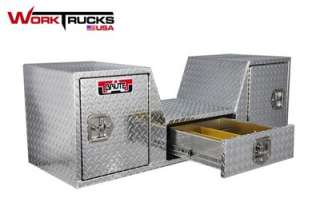 Truck Tool Box Goose Neck/RV with Drawers 57 Wide NEW