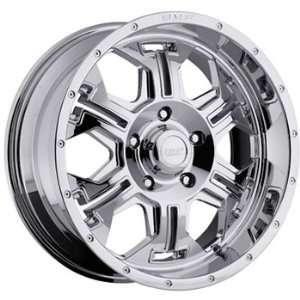 BMF SERE 20x9 Chrome Wheel / Rim 5x150 with a 12mm Offset and a 110.00
