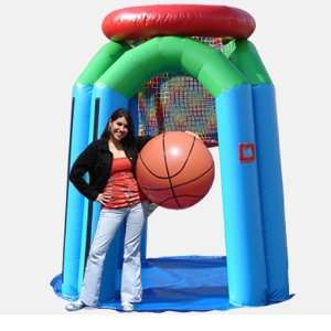 Giant Basketball Hoop Bounce House (Commercial Grade) Toys & Games