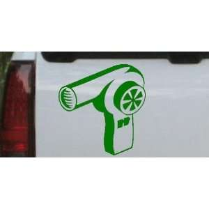 Hair Dryer Business Car Window Wall Laptop Decal Sticker    Dark