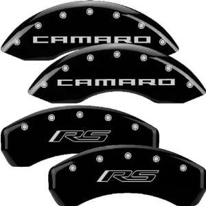 MGP Caliper Covers Chevrolet Camaro 2010 2011 2012 (Licensed Logo, RS