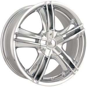 Alloy Ion Style 161 15x7 Chrome Wheel / Rim 5x4.5 & 5x120 with a 40mm