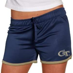 Georgia Tech Yellow Jackets Ladies Navy Blue Kettle Shorts