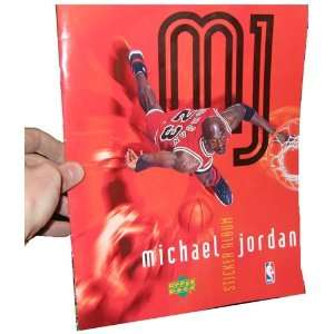 Deck NBA Basketball Michael Jordan Sticker Album